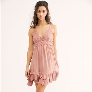 Adella Slip Dress Rose